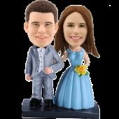Customized Wedding Bobble Head