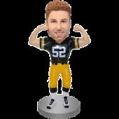 Customized Football Bobble