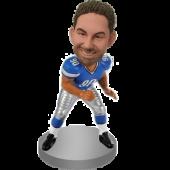 Customized Football Bobble Head