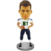 Customized Football Buddy Bobble Head