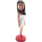 Fashion Girl Personalized Bobble Head