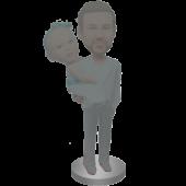 Man Holding Kid Custom Bobbleheads