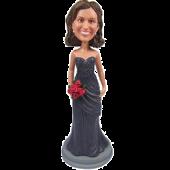Grey Dress Bridesmaid