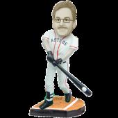 Houston Baseball Batter Custom Bobblehead