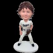 LA Baseball Boy Custom Bobblehead