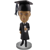 Male Graduate Custom Bobble