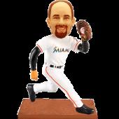 Miami Baseball Buddy Bobblehead
