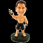 MMA Fighter Custom Bobblehead