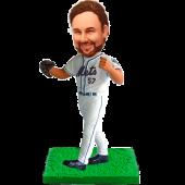 New York Baseball Custom Bobblehead