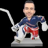NY Hockey Goalie Bobble Head