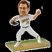 Oakland Baseball Buddy Personalized Bobblehead