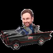 Personalized Batmobile Bobble Head