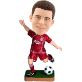 Personalized Bobblehead Soccer Player