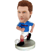 Personalized football bobblehead