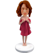 Personalized Sexy Lady Bobble Head