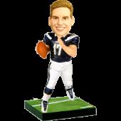 San Diego Football Fan Custom Bobblehead