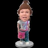 School Girl Custom Bobblehead