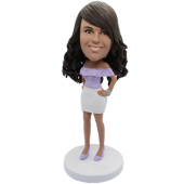 Sexy Lady Personalized Bobblehead