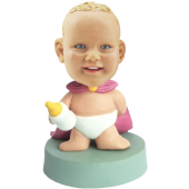 Super Hero Boy Custom Bobble Head