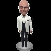 White Suit Groomsman