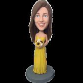 Yellow Dress Bidesmaid