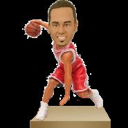 Chicago Basketball Buddy Custom Bobble Head