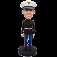 Custom US Marine Bobble Head