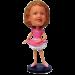 Custom Ballerina Bobble Head