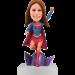 Personalized Superwoman Bobble Head