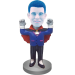 Personalized Vampire Bobble Head