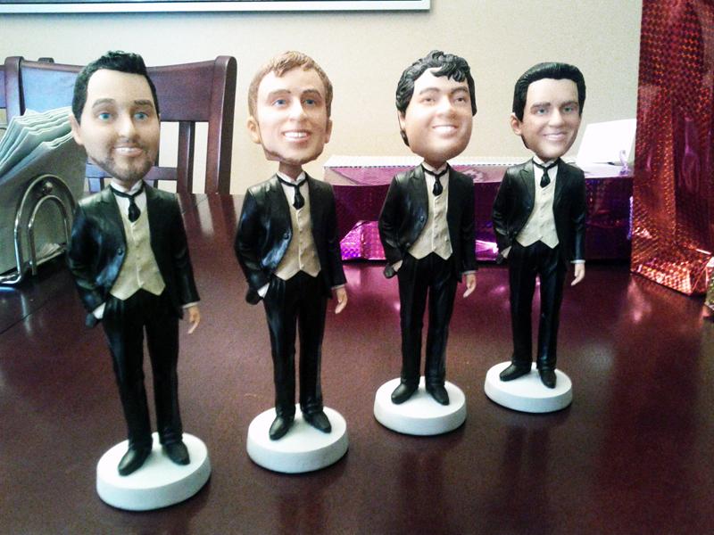 custom groomsmen bobbleheads review