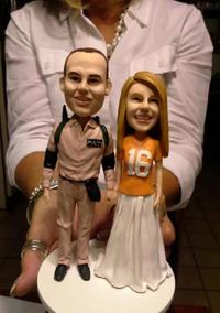 custom wedding cake topper review