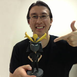 review noble samurai bobblehead